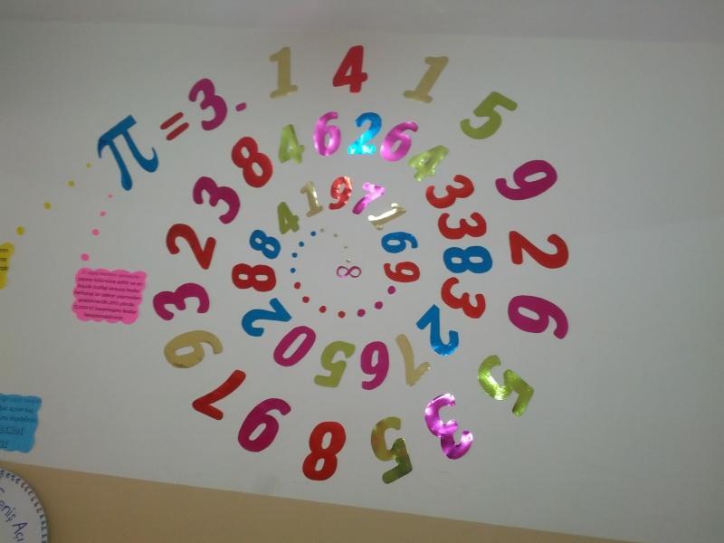 Okulumuzda Matematik Koridoru Oluşturuldu